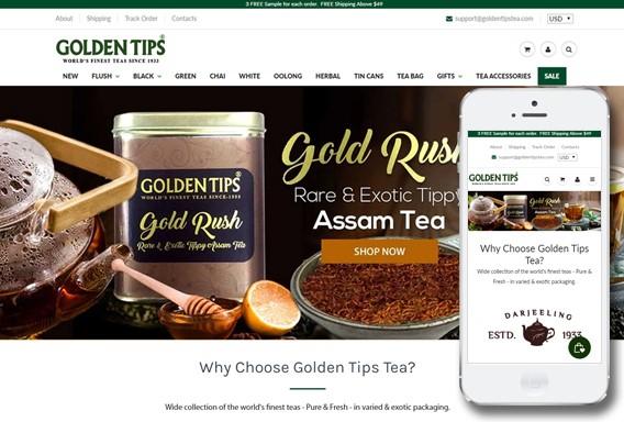 GoldenTips Tea