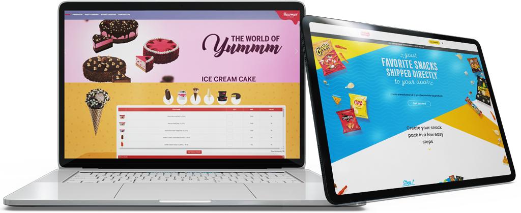 Havmor website